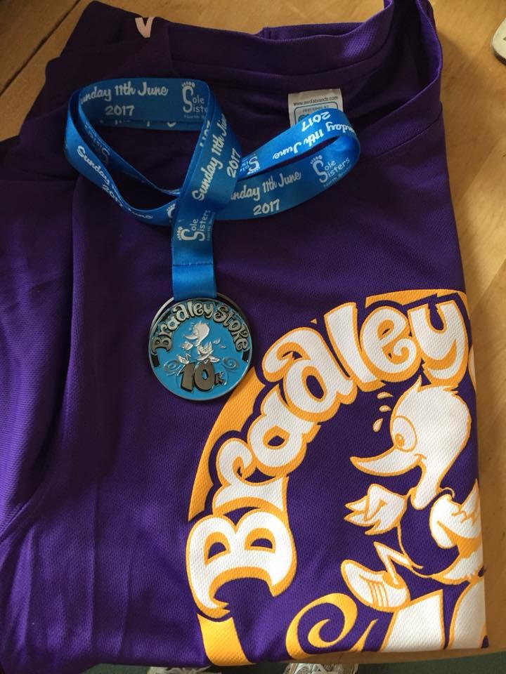 Teresa Hore Medal and Shirt